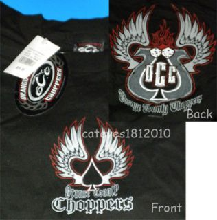 New Orange County Choppers OCC Mens Short Sleeve Shirt and Note Pad