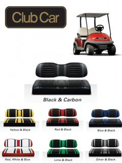 CLUB CAR Precedent Golf Cart EXTREME Two Tone Seat Assembly Sets