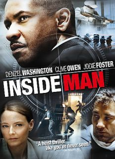 Inside Man DVD, 2006, Anamorphic Widescreen