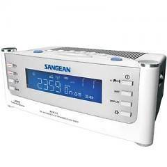 RCR22 AM/FM/Aux Atomic Clock Radio Aux input For iPod Cd Players
