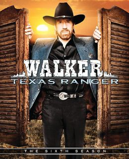 Walker Texas Ranger   The Complete Sixth Season DVD, 2009, 5 Disc Set