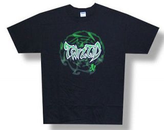 New Twiztid Gr​een Logo ICP Hatchet Man Icon Medium Black T shirt