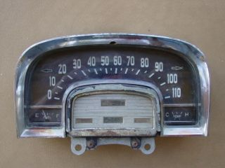50s Dash Speedometer Housing Chrysler Dodge Plymouth Part # 1581004
