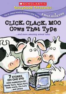 Click Clack Moo Cows That Type More Amusing Animal Tales DVD, 2008