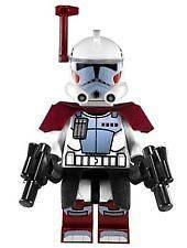 LEGO Star Wars Arc Elite Clone Trooper Commando Minifigure & Blaster