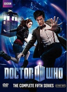 Doctor Who The Complete Fifth Series DVD 2010 6 Disc Set   3D Cover