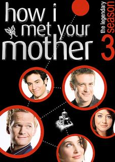 How I Met Your Mother   Season 3 DVD, 2008, 3 Disc Set, Checkpoint