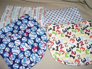 handmade burp cloths in Burp Cloths