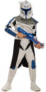CLONE TROOPER Star Wars Captain Rex Soldier Child Large Costume NEW QG