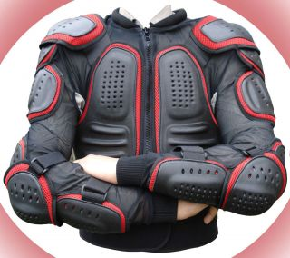 Motorcycle Motocross Cycle Motorbike Body Armour Suit Jacket Spine