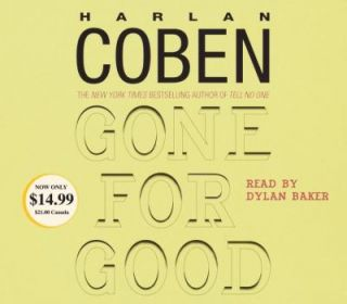 Gone for Good by Harlan Coben 2005, CD, Abridged