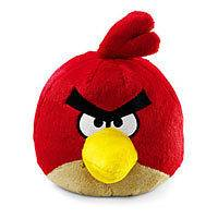 RED BIRD 8 PLUSH WITH SOUND & TAG   ROVIO COMMONWEALTH TOY   NEW