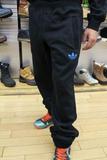 Adidas Originals Black Bluebird Classic Trefoil FireBird Logo Track