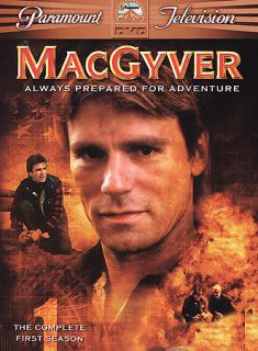 CLEAN LIKE NU MacGyver Complete First Season DVD 6 Disc Set BOXED SET