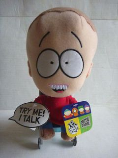 South Park TIMMY soft plush TALKING toy doll NWT 2002 southpark