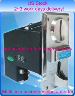 Multi Coin Acceptor Selector Sorter Vending machine 926