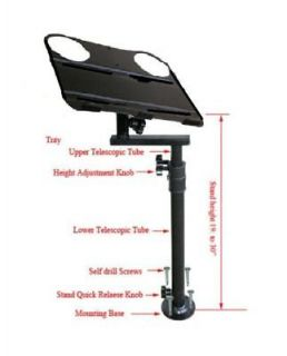 CAR VAN TRUCK AUTO VEHICLE LAPTOP COMPUTER MOUNT STAND HOLDER TABLE F