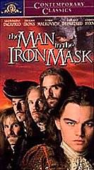 The Man in the Iron Mask (VHS, 1999, Con