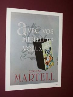 1951 1960 MARTELL FRENCH COGNAC ADS FRENCH ADS