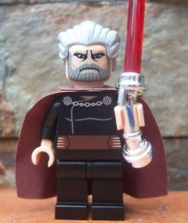 Lego Star Wars Minifigure Mini Figure     COUNT DOOKU    Sith Lord