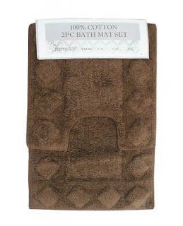 bathroom rug sets in Bathmats, Rugs & Toilet Covers