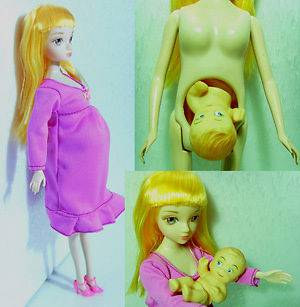 pregnant barbie doll in Barbie Contemporary (1973 Now)