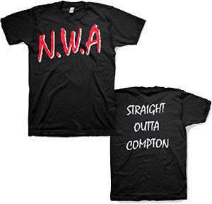 NWA T Shirt  COMPTON *Sm Med Lg XL 2XL* Dr Dre Ice Cube Eazy E  RAP