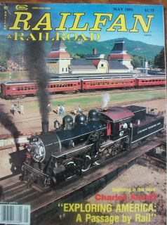 1983 Railfan & Railroad Magazine Corinth & Counce Railroad Mississippi