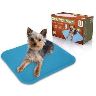 Hugs Gel Pet Mat Cooling Cool Pet Dog Cat Pad Bed Small 12 x 16 HUG