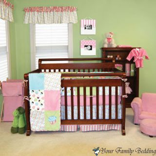 Pink Cupcake Baby Girl Kid Toddler For Crib Nursery Blanket Newborn
