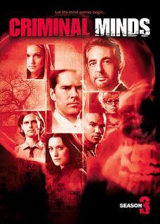 Criminal Minds   Seasons 1 3 DVD, 2008