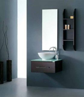 Newly listed 29 Bathroom Ceramic Round Porcelain Sink Cabinet Vanity