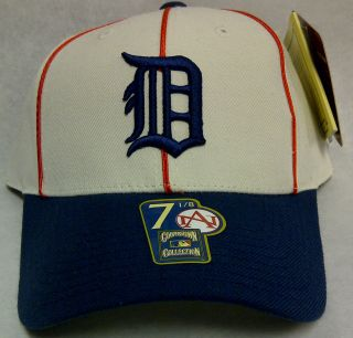DETROIT TIGERS COOPERSTOWN COLLECTION 1934 LOGO FITTED CAP
