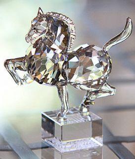 SWAROVSKI CRYSTAL CHINESE ZODIAC HORSE FIGURINE   NEW RELEASE 995744