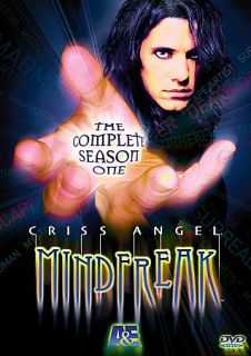 Criss Angel MindFreak   The Complete Season One DVD, 2005, 2 Disc Set