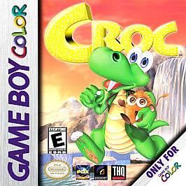 Croc Legend of the Gobbos Nintendo Game Boy Color, 2000