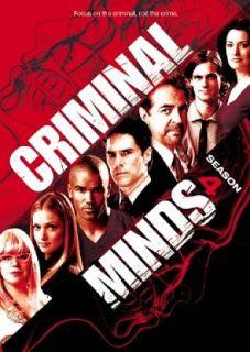 Criminal Minds Season 4 DVD, 2009, 7 Disc Set
