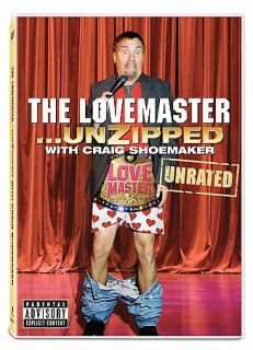 Craig Shoemaker The Love Master Unzipped DVD, 2008