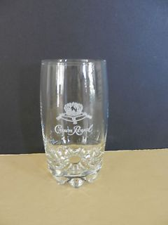 Single High Ball Crown Royal Canadian Whiskey Glass