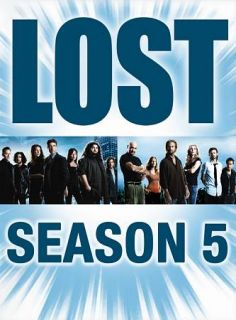 Lost   The Complete Fifth Season DVD, 2009, 5 Disc Set
