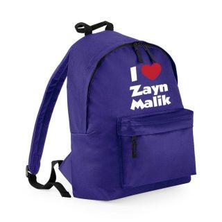Love Zayn Malik One Direction Girls School Backpack   New Girls Bag