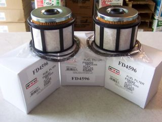 1999 2003 7.3 Powerstroke Fuel Filters (3) (Fits Ford E 350)