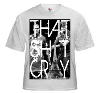 Kanye West T Shirt Jay Z That Cray T Shirt Paris Watch The Throne Mens