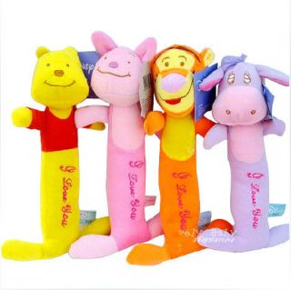 Baby toys Animal model Hand bell Kid Plush rattle doll Catoon