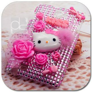 Hello Kitty Bling Hard Skin Case Cover Samsung Galaxy Note N7000