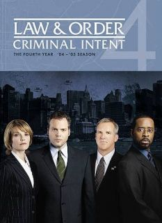 Law Order Criminal Intent   The Fourth Year DVD, 2009, 5 Disc Set