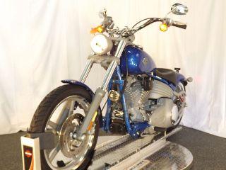 Softail 2008 FXCW HARLEY DAVIDSON SOFT TAIL CRUISING MOTORCYCLE
