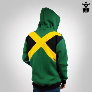 HOODIE Rasta Reggae Jamaica Lion of Judah VIDA shirt Marley jacket