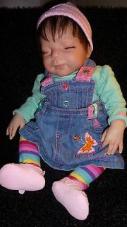 reborn baby doll heather comes with works, baby bottles she is loaded