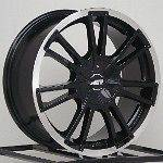 Rims Black Honda Civic Fit Scion XB XA Nissan Cube 4 lug SET NEW